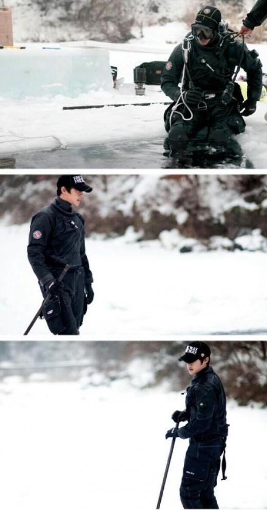 """[مقــــال]: كيم هيون جونغ يكشف عن صور من قناة BTS للدراما القادمة """"الفتح المدينة""""..~"""